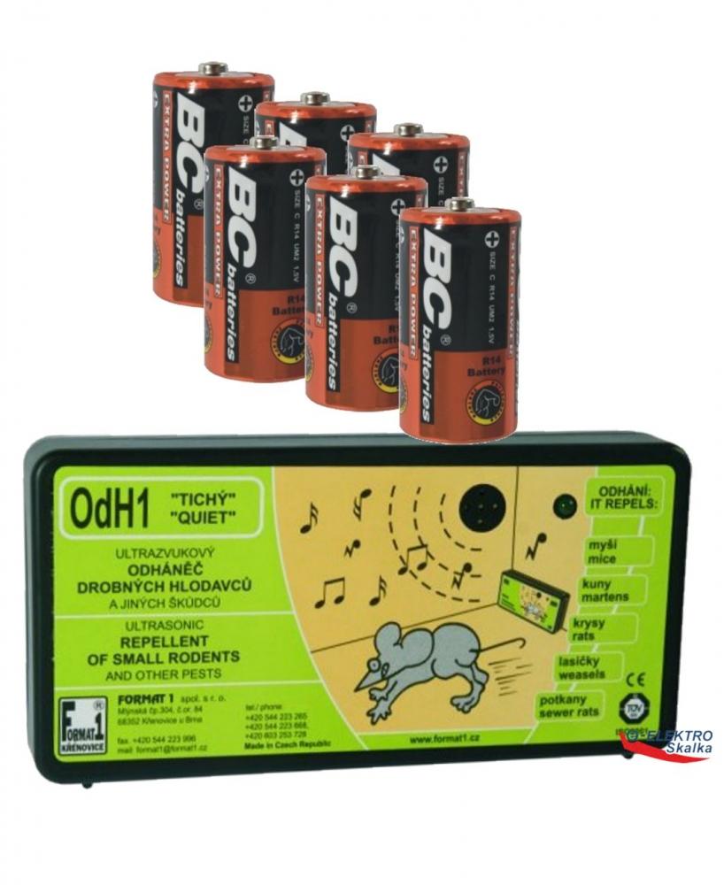 Odpuzovač hlodavců Format1 OdH1T Ultrazvukový a baterie