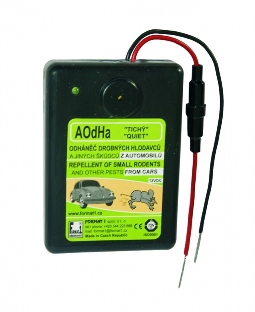 Ultrazvukový plašič kun Format1 AOdHa/T 12V do automobilu