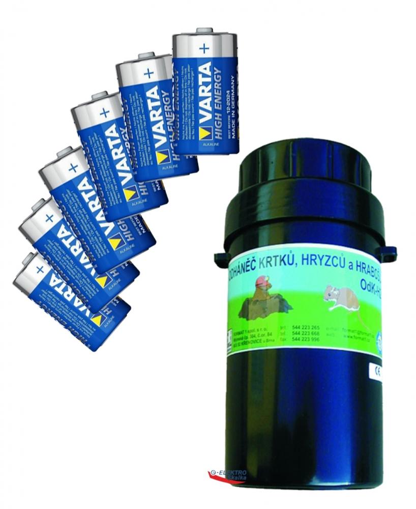 Plašič na krtky Format1 OdK-H2 odháněč hrabošů s bateriemi