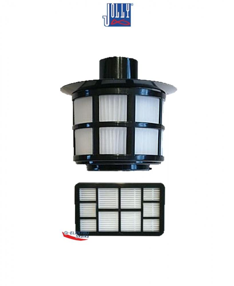 Filtry HEPA HF4 JOLLY Pro vysavače HYUNDAI, Tesla VCT30
