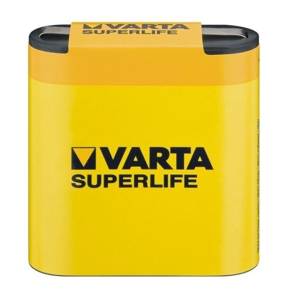 Baterie 3R12 4,5V VARTA ZiNc SuperLife plochá
