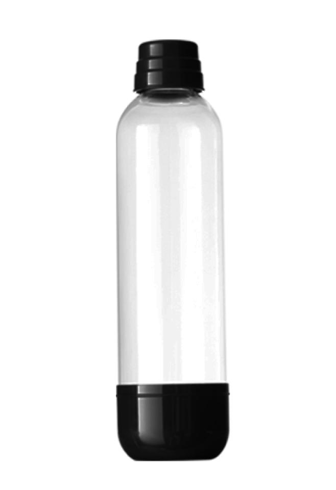 Náhradní láhev pro výrobník LIMO BAR Soda bottle 1l černá