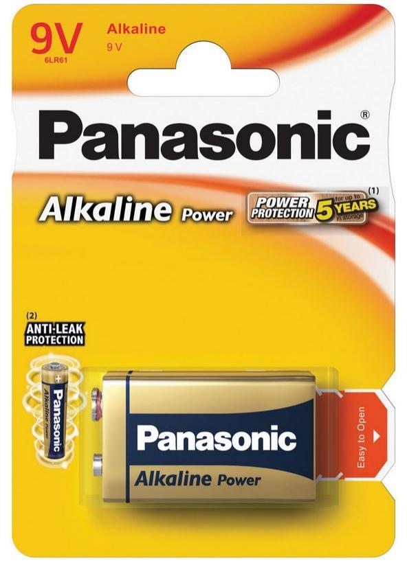 Baterie 9V 6LR61APB/1BP PANASONIC Bronze