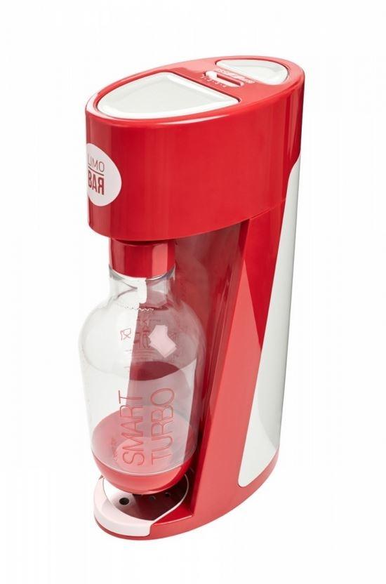 Výrobník sody LIMO BAR Elixir Turbo Red, CO2 bombička a 1litr láhev