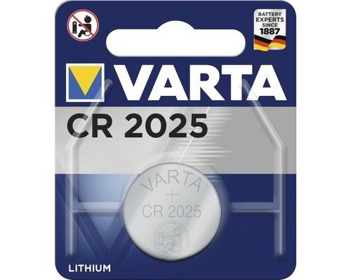 Baterie CR 2025 3V VARTA Lithiová knoflíková