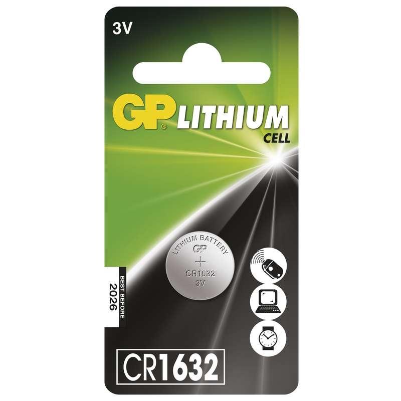 Baterie CR 1632 3V GP Lithiová knoflíková 1ks