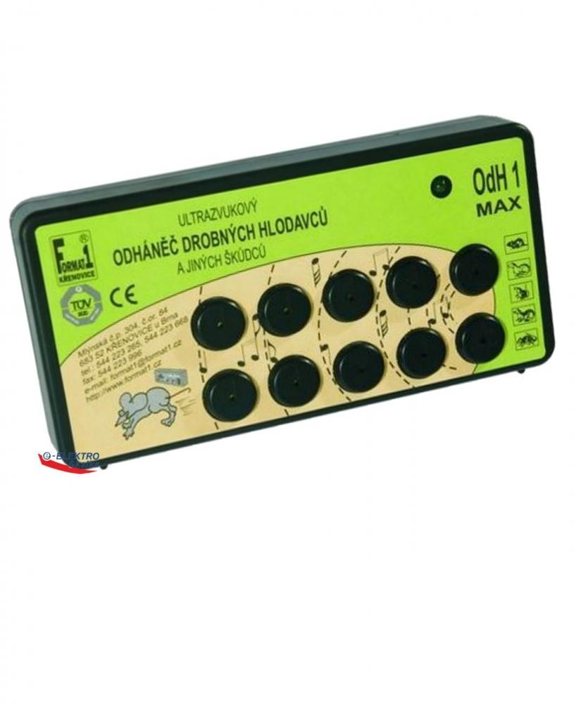 Ultrazvukový odpuzovač Format1 OdH1 Max na myši, kuny