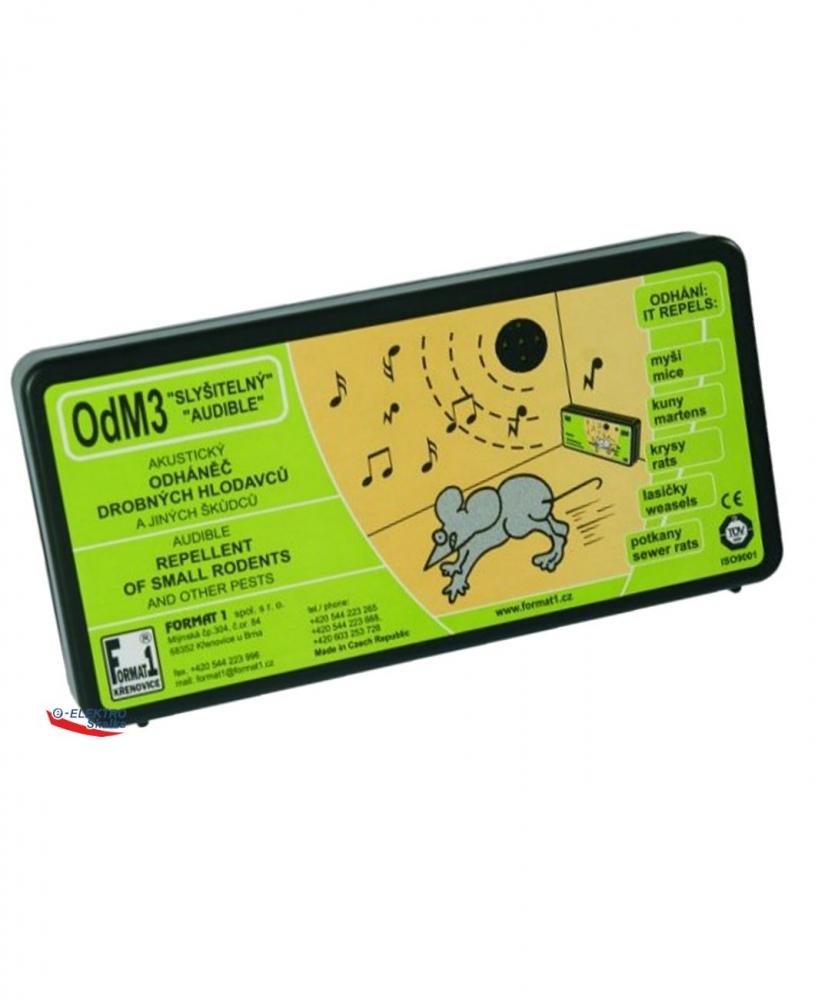 Akusický odpuzovač Format1 OdM3 Přerušovaný tón na myši