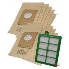 HEPA Filtr pro vysavač ELECTROLUX ErgoSpace ZE 361 a sáčky 1+10ks