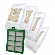 Sada sáčků a HEPA Filtr pro ELECTROLUX ErgoSpace ZE 361 , 1+4ks sáčků