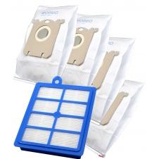 HEPA Filtr a sada sáčků pro ELECTROLUX ErgoSpace XXL 42 , 1+4ks sáčků