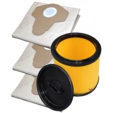 Sada sáčků a filtr pro PARKSIDE PNTS 1300 B2 1+3ks