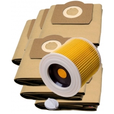 HEPA Filtr do vysavače KARCHER A2656X Plus a sáčky 1+6ks