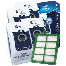 Sada HEPA filtr pro ELECTROLUX ErgoSpace ZE 361 a S-BAG 4ks sáčků